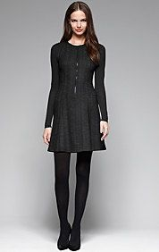 OLETHEA HERRINGBONE DRESS. Dear Santa.