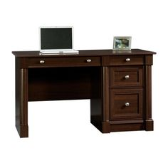 Sauder Palladia Computer Desk in Select Cherry by Sauder, http://www.amazon.com/dp/B005EGV4IW/ref=cm_sw_r_pi_dp_8HXbsb1RJXHJ5