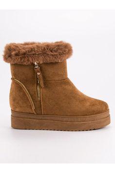 Snehule na platforme CnB Ugg Boots, Uggs, Platform, Wedges, Adidas, Shoes, Fashion, Moda, Zapatos