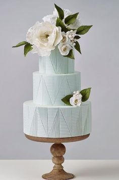 Featured Cake: crummb cakes from www.crummb.com; Wedding cake idea.