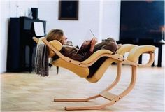 ultimate reading or gaming chair... the website described it as giving you the feeling that you're weightless.
