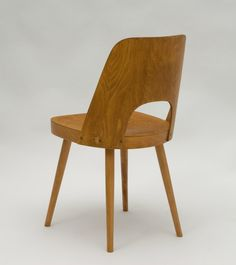 Czech dining chair by, Oswald Haerdtl for Ton, 1960