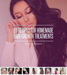 27 #Recipes for Homemade Hair Growth Treatments 👩🏽🍯 ... - Hair