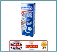 PLUS WHITE 5 MINUTE TEETH WHITENING - ONE STEP TOOTH GEL     BUY 2 get 1 FREE