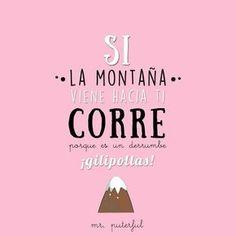 Si Mahoma no va a  la montaña, la montaña...176 II Psicología positiva: Un polo de la pila http://domandoallobo.blogspot.com.es/2016/04/176-ii-psicologia-positiva-un-polo-de.html