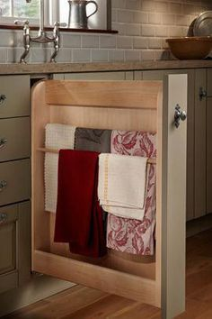 Bathroom Fixtures Universal Kitchen Under Cabinet Door Drawer Towel Rack Cupboard Home Holder Kit Consumers First