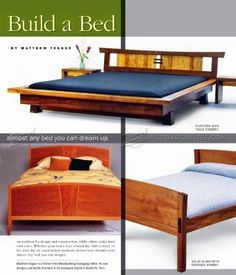 #2534 Build Bed - Furniture Plans