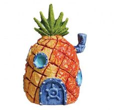 SpongeBob SquarePants and crew are everyone's favorite underwater characters. Now you can enjoy SpongeBob's right in your very own aquarium! This vibrantly colored ornament is safe for use in any freshwater or saltwater aquarium. Aquarium Decorations, Saltwater Aquarium, Spongebob Squarepants, Fresh Water, Pineapple, Christmas Ornaments, Holiday Decor, Mini, Underwater