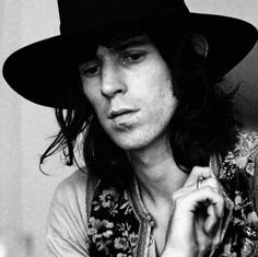 KEITH RICHARDS-not only the strongest creative force of the Stones but also wrote a very entertaining biography