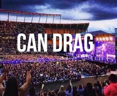 Nobody CAN DRAG us down