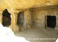 #Crete #Matala history: caves and ruins in ancient Matala in Minoan Crete | Tourism: Crete, Greece, World | Scoop.it