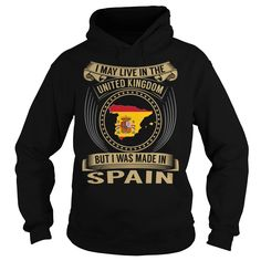 Live in the United Kingdom - Made in Spain - Special, Just get yours HERE ==> https://www.sunfrog.com/States/Live-in-the-United-Kingdom--Made-in-Spain--Special-Black-Hoodie.html?id=47756 #christmasgifts #xmasgifts #unitedkingdom