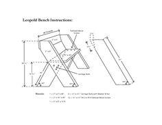 Aldo Leopold garden bench design | ... Aldo Leopold was a conservationist, forester, philosopher, educator