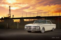 Cream Ford Falcon XM Coupe by John Jovic