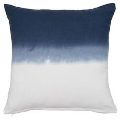 Dip-dye Decorative Indoor/ Outdoor Pillow Cover - Overstock™ Shopping - Great Deals on Throw Pillows Patio Furniture Cushions, Outdoor Cushions, Outdoor Pillow Covers, Ombre Effect, American Decor, Dip Dye, Beach House Decor, Home Decor Outlet, Indoor Outdoor