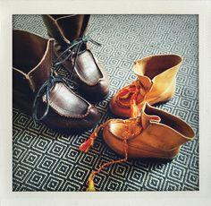 Shoes for generations (näbbskor from Sweden).