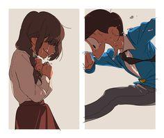 jyushimatsu and osomatsu san 이미지 Laughing And Crying, Ichimatsu, Manga, Movie Characters, Anime Couples, Kawaii Anime, Anime Guys, We Heart It, Anime Art