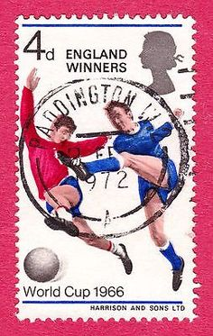Gb qeii #stamps. 1966 england's #world cup football victory. #sg700. used. #2486,  View more on the LINK: http://www.zeppy.io/product/gb/2/162356797430/