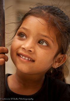 Little Miss Green Eyes by viwehei, via Flickr