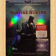 Abraham Lincoln Vampire Hunter, DVD, - Mercari: Anyone can buy & sell Abraham Lincoln Vampire Hunter, Movies For Sale, Riveting, Tim Burton, Novels, How To Plan, Film, Digital, Movie