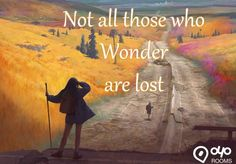 Not all those who #Wonder are lost..