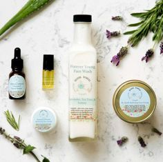 Looking for a skincare routine with an essential oil base? We handcraft all of our products with specific essential oils to treat your skin, help with aging, acne and blemished skin. Everything is made in small batch by my mother and I!