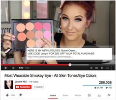 Check the description box on YouTube tutorial and haul videos for discount codes.