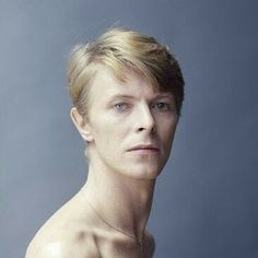 David Bowie Sorry! I can't stop pinning this photo. He is so regal and spectacular with that incredibly long neck and beautiful head/face!  So, here it goes again