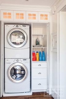 Provincetown ll - traditional - laundry room - boston - by Lewis & Weldon Custom Kitchens