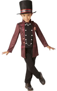 """Grandpa Joe said it best, """"'Mr Willy Wonka is the most amazing, the most fantastic, the most extraordinary chocolate maker the world has ever seen!'"""". Our Child Willy Wonka Costume is perfect for your sweet toothed confectioner on World Book Day or for a movie:  https://www.joke.co.uk/roald-dahl-costumes/child-willy-wonka-costume~78962/themed party."""