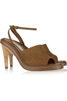 Stella McCartneyFaux suede sandals