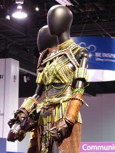 Florence Kasumba Black Panther Ayo movie costume