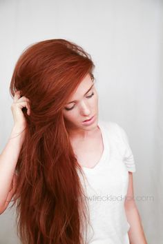 The Freckled Fox - a Hairstyle Blog: Hair Tutorial: my no-nonsense blow dry for…
