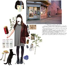 small town girl by walking-in-circles on Polyvore featuring Leg Avenue, Manic Panic, Jack Wills, Linea, Jura, GUESS, Sharpie, women's clothing, women's fashion and women