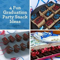 College Graduation Party Decorations | Fun Graduation Party Snack Ideas
