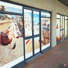 We offer window vinyl printing, design & application using solid or etched vinyl + contra vision (one way vinyl) to indoor + outdoor windows Window Graphics, Cape Town, Indoor Outdoor, Windows, Prints, Design, Home Decor, Decoration Home, Room Decor