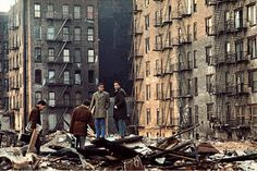 Bronx, NYC. 1970 The flats are fabulous and have a huge designing potential
