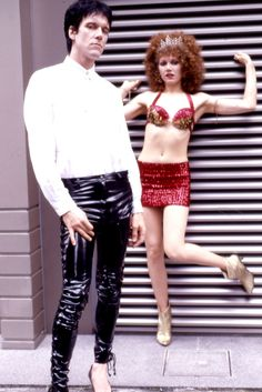 Lux Interior & Poison Ivy of The Cramps