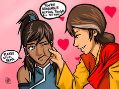 Korra and Pema by utena11221.deviantart.com on @deviantART