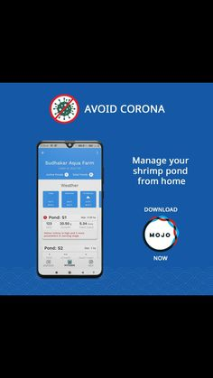 The best way to avoid Corona is to stay safe at home. Watch your ponds' activities from home with FarmMOJO . Aqua Farm, Shrimp Farming, Aqua Culture, Time And Weather, Farm Activities, Weather Report, Water Quality, Stay Safe, Ponds