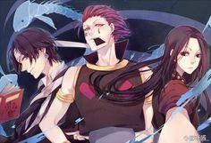 Chrollo, Hisoka, & Illumi