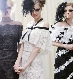 Chanel Couture Spring/Summer 2013 Behind The Scenes