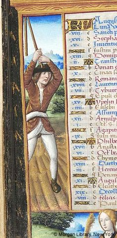 Book of Hours, M.618 fol. 4v - Images from Medieval and Renaissance Manuscripts - The Morgan Library & Museum
