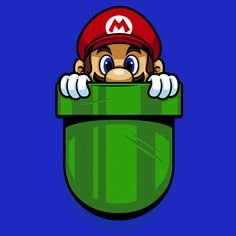 Pocket Plumber T-Shirt $12.99 Super Mario Bros tee at Pop Up Tee!
