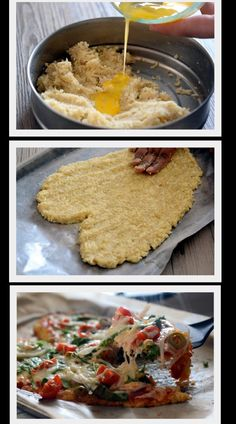 Quinoa Crust Pizza - Make any night, a guilt-free pizza night with Quinoa crust pizza. Skip the egg for a Vegan Version