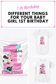 Baby Girl 1st Birthday, T Shirt, Clothes, Women, Fashion, Baby Girl Birthday, Supreme T Shirt, Outfits, Moda