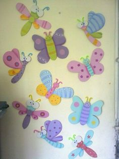 Discover thousands of images about Madera Country Foam Crafts, Diy And Crafts, Arts And Crafts, Paper Crafts, Arte Country, Animal Crafts For Kids, Butterfly Party, Crafts For Seniors, Art N Craft