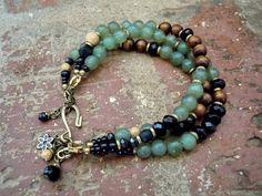 Bracelet bohémien / Bracelet Gypsy / Boho / Bracelet multi-rangs / ethnique Bracelet / bijou / Yoga / femme Bracelet / Bracelet de Yoga