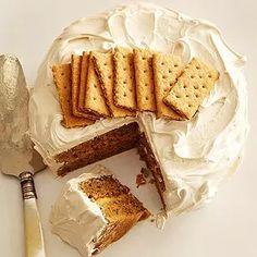 Graham Cracker Cake Recipe