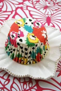 Poppy Dots Cupcake Liners 45 by CupcakeSocial on Etsy. $3.50, via Etsy.